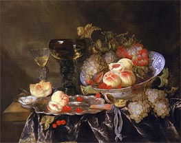 Still Life, undated by Abraham Beyeren | Painting Reproduction