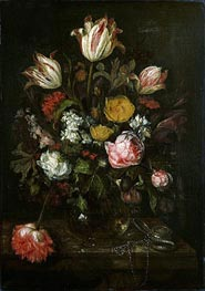 Still Life with Flowers | Abraham Beyeren | Painting Reproduction