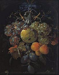 Fruits, undated by Abraham Mignon | Painting Reproduction