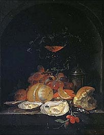 Still Life | Abraham Mignon | Painting Reproduction