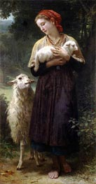 The Shepherdess | Bouguereau | Gemälde Reproduktion