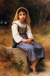 Meditation | Bouguereau | Gemälde Reproduktion
