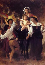 Return from the Harvest | Bouguereau | Painting Reproduction