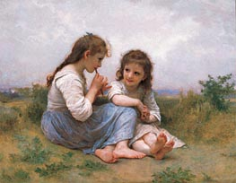 Childhood Idyll, 1900 by Bouguereau | Painting Reproduction