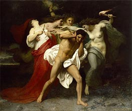 Orestes Pursued by the Furies | Bouguereau | Gemälde Reproduktion