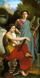 Art and Literature | Bouguereau | Gemälde Reproduktion
