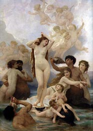 The Birth of Venus | Bouguereau | Painting Reproduction