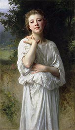Girl, 1895 by Bouguereau | Painting Reproduction