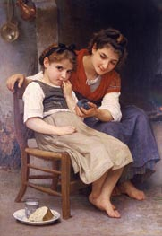 The Little Sulk, 1888 von Bouguereau | Gemälde-Reproduktion