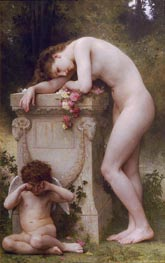 Douleur d'amour (Elegy) | Bouguereau | Painting Reproduction