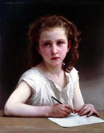 A Calling | Bouguereau | Painting Reproduction