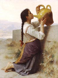 Thirst, 1886 by Bouguereau | Painting Reproduction