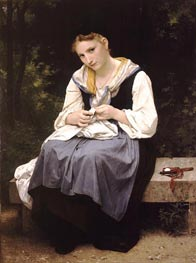 Young Worker | Bouguereau | Painting Reproduction