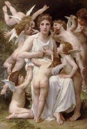 The Assault | Bouguereau | Painting Reproduction