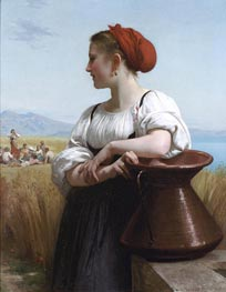 The Harvester, 1868 by Bouguereau | Painting Reproduction