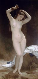 Bather, 1870 by Bouguereau | Painting Reproduction