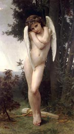 Wet Cupid, 1891 by Bouguereau | Painting Reproduction