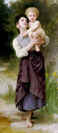 Brother and Sister | Bouguereau | Gemälde Reproduktion