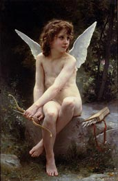 Love on the Look Out | Bouguereau | Gemälde Reproduktion