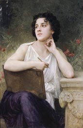 Inspiration, 1898 by Bouguereau | Painting Reproduction
