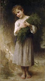 Returned from the Fields | Bouguereau | Painting Reproduction