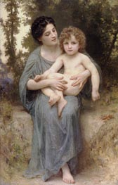 Little Brother | Bouguereau | Painting Reproduction