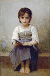 The Difficult Lesson | Bouguereau | Gemälde Reproduktion