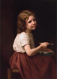 Soup, 1865 by Bouguereau | Painting Reproduction