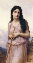 Waiting, 1902 von Bouguereau | Gemälde-Reproduktion