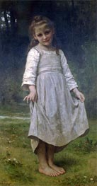 The Curtsey, 1898 von Bouguereau | Gemälde-Reproduktion