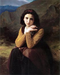 Mignon, 1869 by Bouguereau | Painting Reproduction