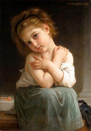 Chilly Girl (La frileuse) | Bouguereau | Gemälde Reproduktion