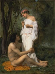 Idylle | Bouguereau | Painting Reproduction