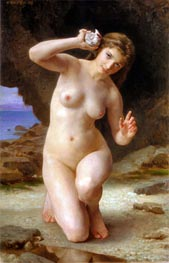 Woman with Seashell | Bouguereau | Gemälde Reproduktion