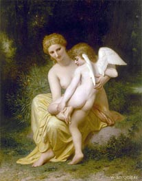 Wounded Eros | Bouguereau | Painting Reproduction