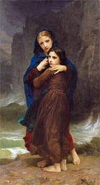 The Storm, Undated by Bouguereau | Painting Reproduction