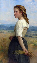 Glaneuse, 1894 by Bouguereau | Painting Reproduction