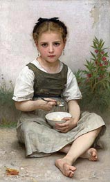 Morning Breakfast, 1887 by Bouguereau | Painting Reproduction