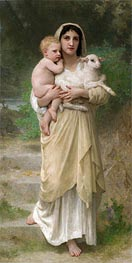 The Lamb, 1897 von Bouguereau | Gemälde-Reproduktion