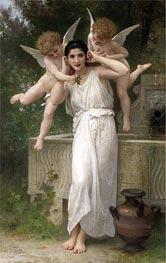 Youth, 1893 von Bouguereau | Gemälde-Reproduktion