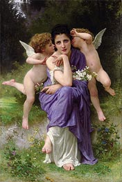 Songs of Spring | Bouguereau | Painting Reproduction