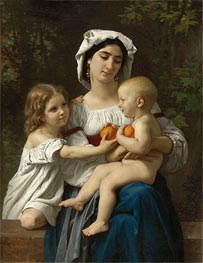 Oranges, 1865 by Bouguereau | Painting Reproduction