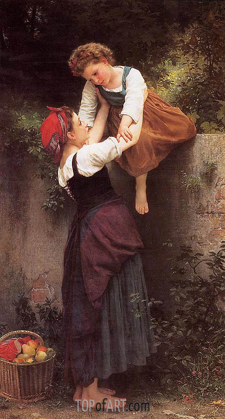 Little Marauders, 1872 | Bouguereau | Gemälde Reproduktion