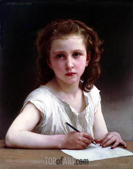 A Calling, 1890 | Bouguereau | Painting Reproduction
