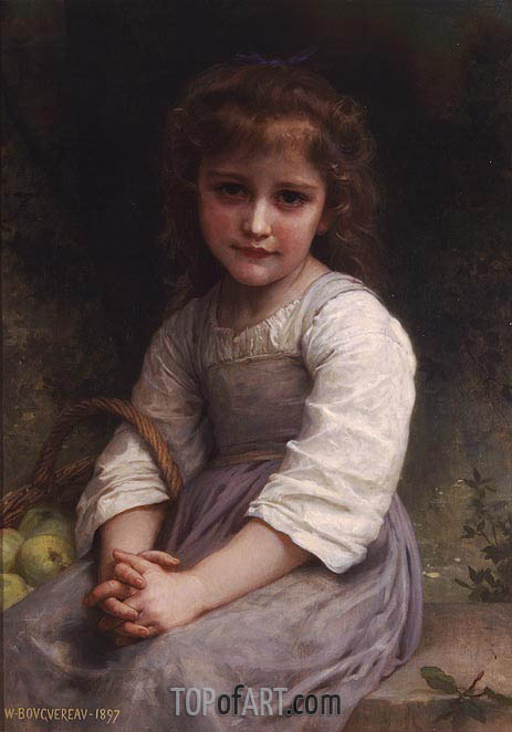 Apples, 1897 | Bouguereau | Painting Reproduction