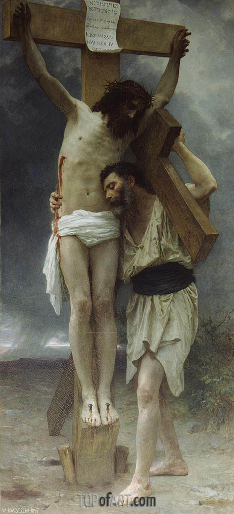 Compassion!, 1897 | Bouguereau | Gemälde Reproduktion