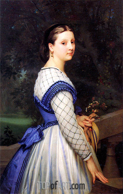 The Countess de Montholon, 1864 | Bouguereau | Painting Reproduction
