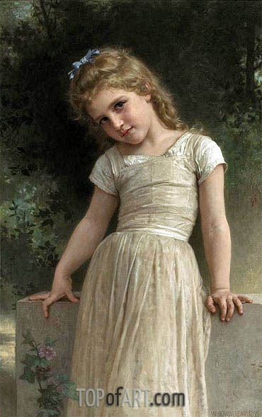The Mischievous One, 1895 | Bouguereau | Painting Reproduction