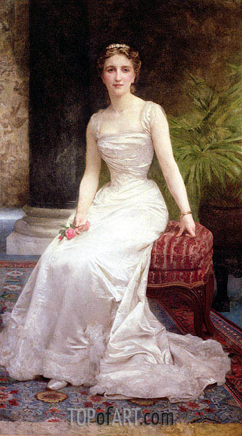 Portrait of Madame Olry-Roederer, 1900 | Bouguereau | Painting Reproduction