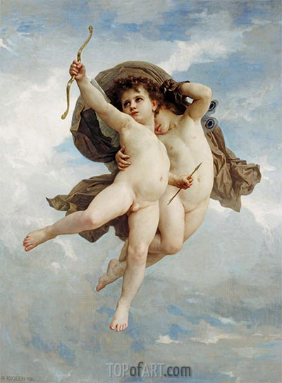 Cupid Victorious, 1886 | Bouguereau | Painting Reproduction
